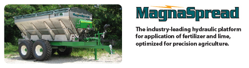 MagnaSpread Fertilizer and Lime Spreaders